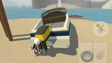 人类一败涂地:水城图里的船怎么启动?
