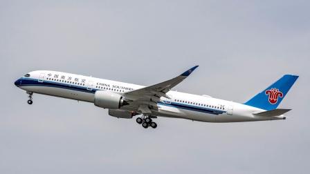 南航首架A350总装记录