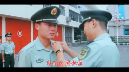 于文华、朱之文军歌对唱《驼铃》MV,我听看一次,泪洒一次
