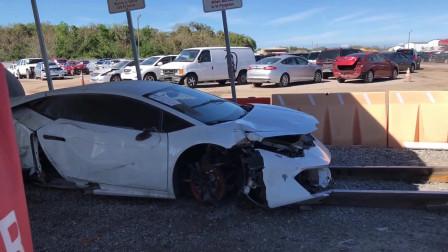 美国小哥维修兰博基尼飓风事故车,修好之后工时费要两万美元?