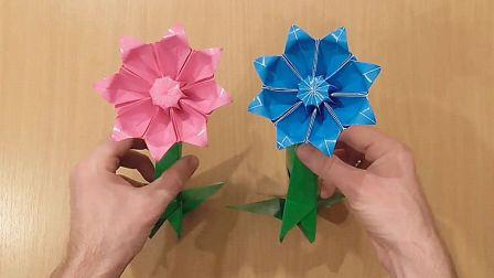 手工制作立体菊花的方法,不仅简单还非常漂亮(步骤2-1)