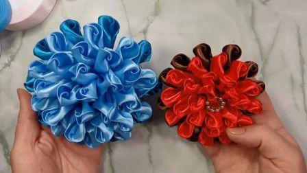 「手工家居系列」教你如何制作漂亮的缎带花朵,方法很简单!