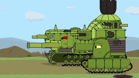 坦克世界动画:好粗的炮管
