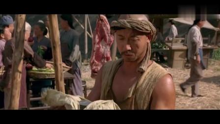 武林高手被杰哥弄到只能卖猪肉的下场,多年以后见到他是这样的