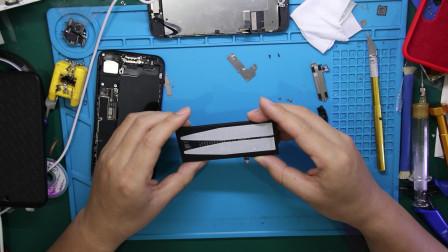 iPhone7电池更换过程,换好新电池不要大意,教你测试电池质量