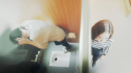 美好时光:郑爽厕所遭围堵,被摁进马桶里羞辱,齐铭暴怒劈门护妻