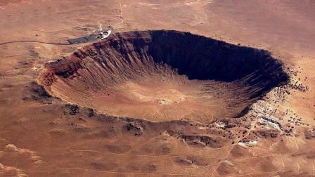 世界上最大的陨石坑,大小可容纳55万人生活,黄金储存量达到1000吨