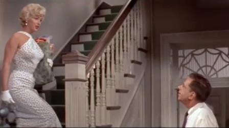 """玛丽莲·梦露出场很惊艳,连影子都好美,一句""""晚安""""太甜了"""