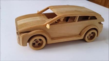 木制路虎汽车