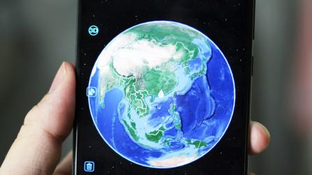 手机卫星高清村庄实时地图,能从太空直接定位到你家屋顶,很精准