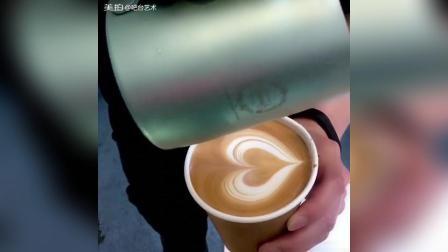 咖啡拉花 爱心