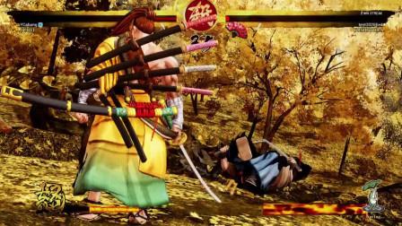 新侍魂晓:柳生十兵卫排位赛遇到高胜率的德川,结果确令人崩溃啊