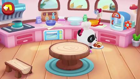 孩子爱看动画宝宝巴士:妙妙做面包和披萨