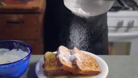 教你制作法式的土司面包,简直不要太美味哦!