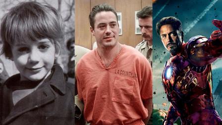 谁能想到钢铁侠曾是瘾君子?小罗伯特唐尼跌宕的一生
