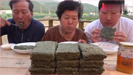 《韩国农村家庭美食》:今天做米糕吃,妈妈的厨艺真是厉害!