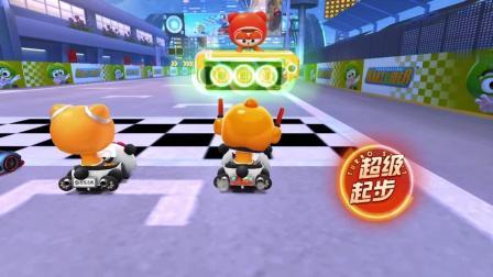 跑跑卡丁车手游:25块钱入手熊猫车体验 速度杠杠的