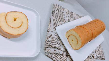原味蛋糕卷   5个鸡蛋各种搅和做出来的美味