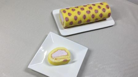 波点蛋糕卷  这么好看你还有密集恐惧症吗?