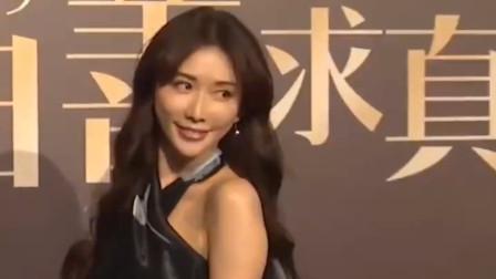 林志玲一袭长裙出席活动,女神少女感十足,气质满分
