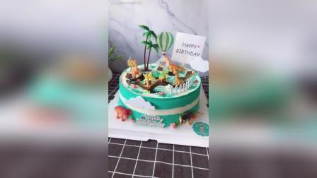 十寸, 恐龙主题生日蛋糕走一个