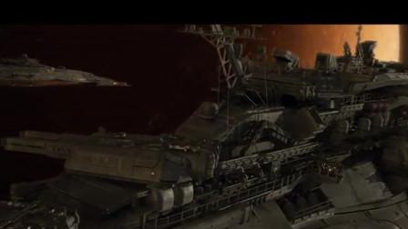 大批日本太空战舰,在火星域,与敌舰展开空中大战!