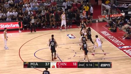 中国男篮NBA夏季联赛最亮点:大王周琦连线,隔扣你没商量