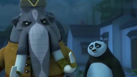 功夫熊猫:捕头把熊猫的老爹抓了,然后就尴尬了!