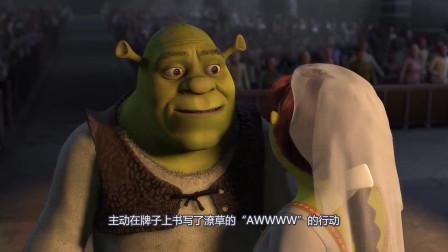 《怪物史莱克》公主不一定要被王子吻醒,绿魔怪也可以和她在一起