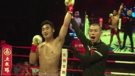峨眉传奇资阳站:韩飞龙、蒲东东、隆拉威完胜KO各国拳王!