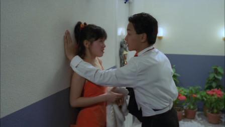 张国荣用手段亲吻李丽珍,被光头佬半路截胡了