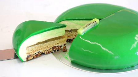 猕猴桃慕斯蛋糕:低调闪耀的绿宝石,匠心其中