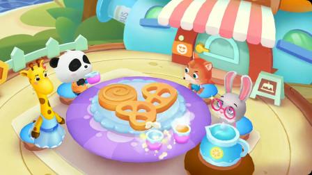 奇妙蛋糕屋妙妙帮奇奇做曲奇饼干