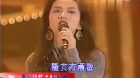 香港:大姐大梅艷芳,當年唱《夕陽之歌》簡直就是風華絕代呀!