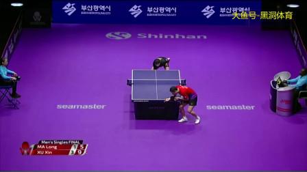 2019韩国乒乓球公开赛男单决赛 许昕4-1马龙连续拿两站公开赛冠军
