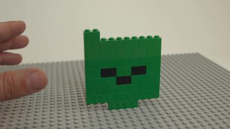 我的世界动画-乐高丧尸脑袋-World of Bricks