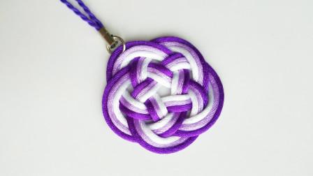 漂亮的编绳小挂件,做法很简单,用来装饰美美哒
