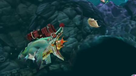饥饿鲨世界:永生僵尸鲨挑战水下生存,能坚持几分钟呢?