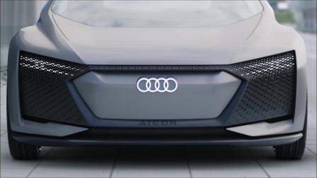 2020 奥迪Aicon 概念车 新车官片