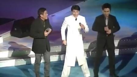 当年《笨小孩》获奖,刘德华、柯受良、吴宗宪现场激情演唱!
