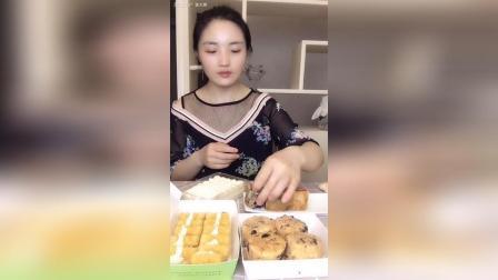 仙豆糕海苔小贝酸奶蛋糕黄金脆