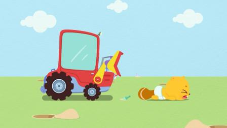 贝瓦学英语:嗨,小汽车 15铲车