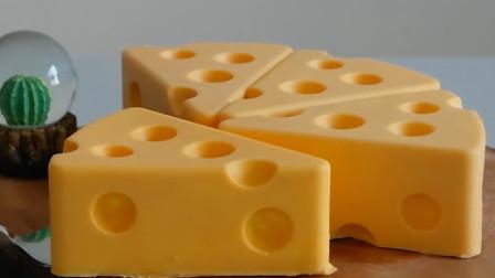 动画片中常见的多孔奶酪蛋糕,小朋友的最爱,快来看看怎么做的吧