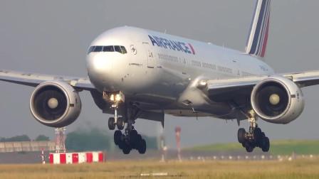 法国航空波音777-200ER着陆
