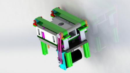 非标自动化设计教程:标准气缸驱动升降式皮带输送机定位精讲