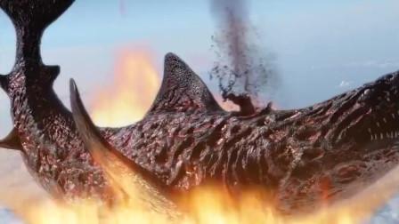地球上最后一头鲨鱼冲出地球,竟将宇航员吞了,这脑洞也太大了吧!