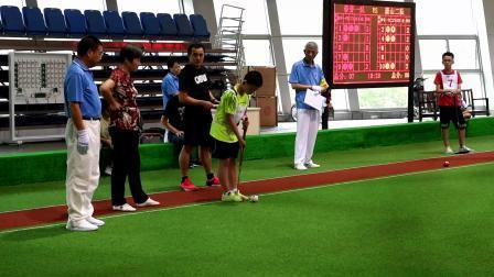 2019杭州青少年门球赛决赛:江干一队Vs萧山二队
