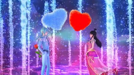 叶罗丽第七季:盘点几大表白场景,高泰明插足爱情,水墨cp甜蜜!