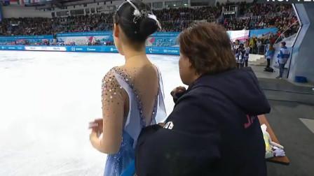 日本花样滑冰女选手三原舞依2019大冬会夺冠表演