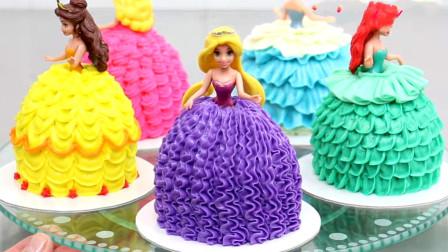 快来看美腻的公主蛋糕集锦吧!每一款都让人眼前一亮,你也能学会!
